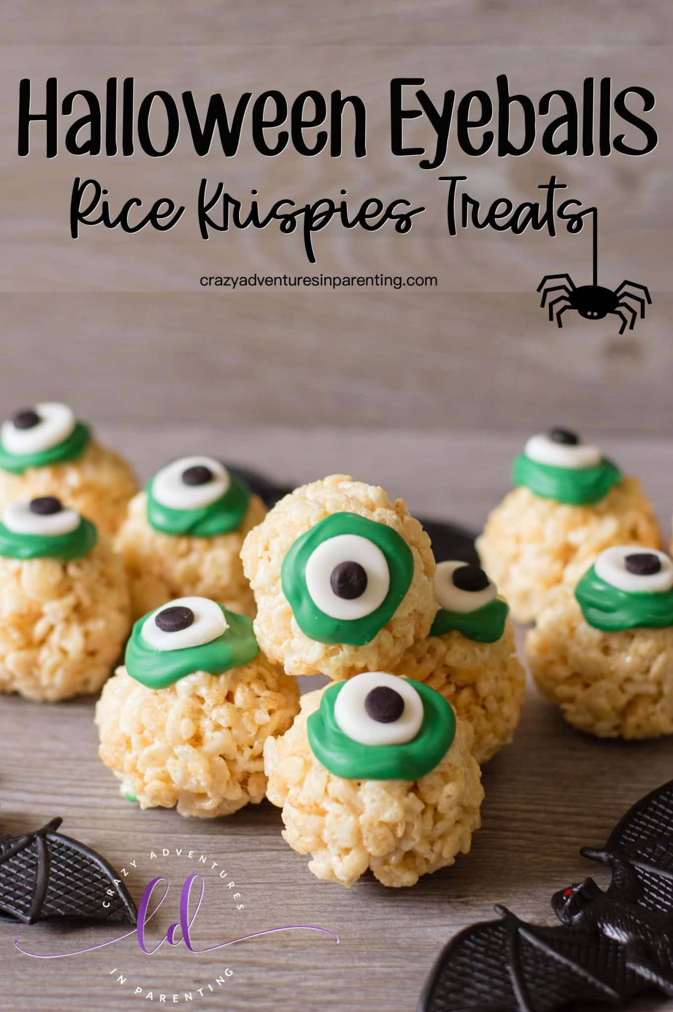 Halloween Eyeballs Rice Krispies Treats