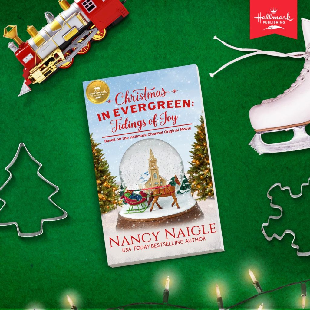 Hallmark Publishing Christmas in Evergreen Tidings of Joy Book