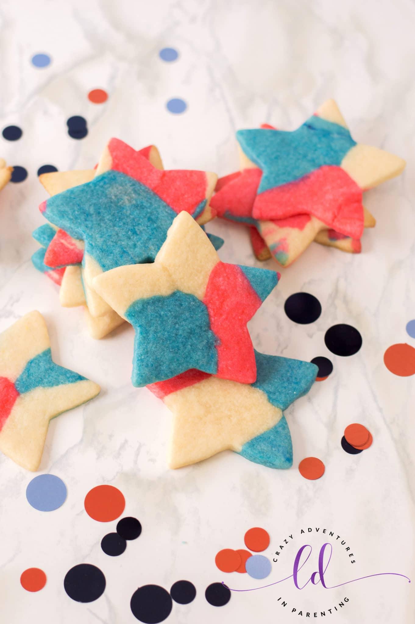 Easy Patriotic Sugar Cookies Recipe