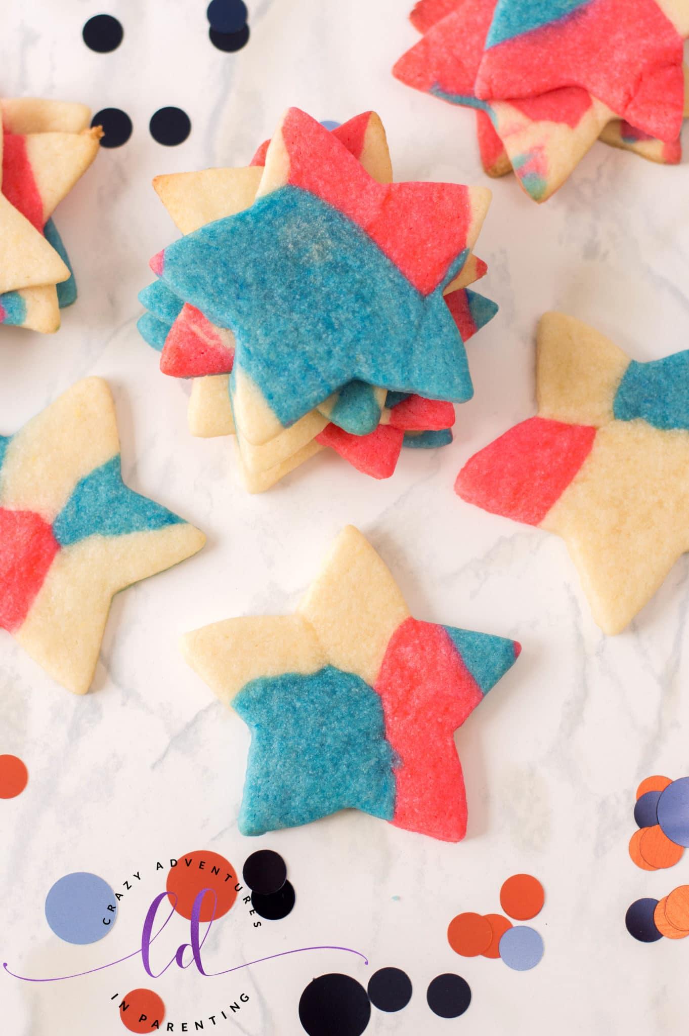 Easy Patriotic Sugar Cookies