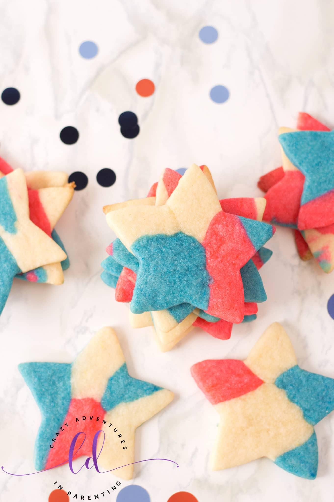 Fun Patriotic Sugar Cookies
