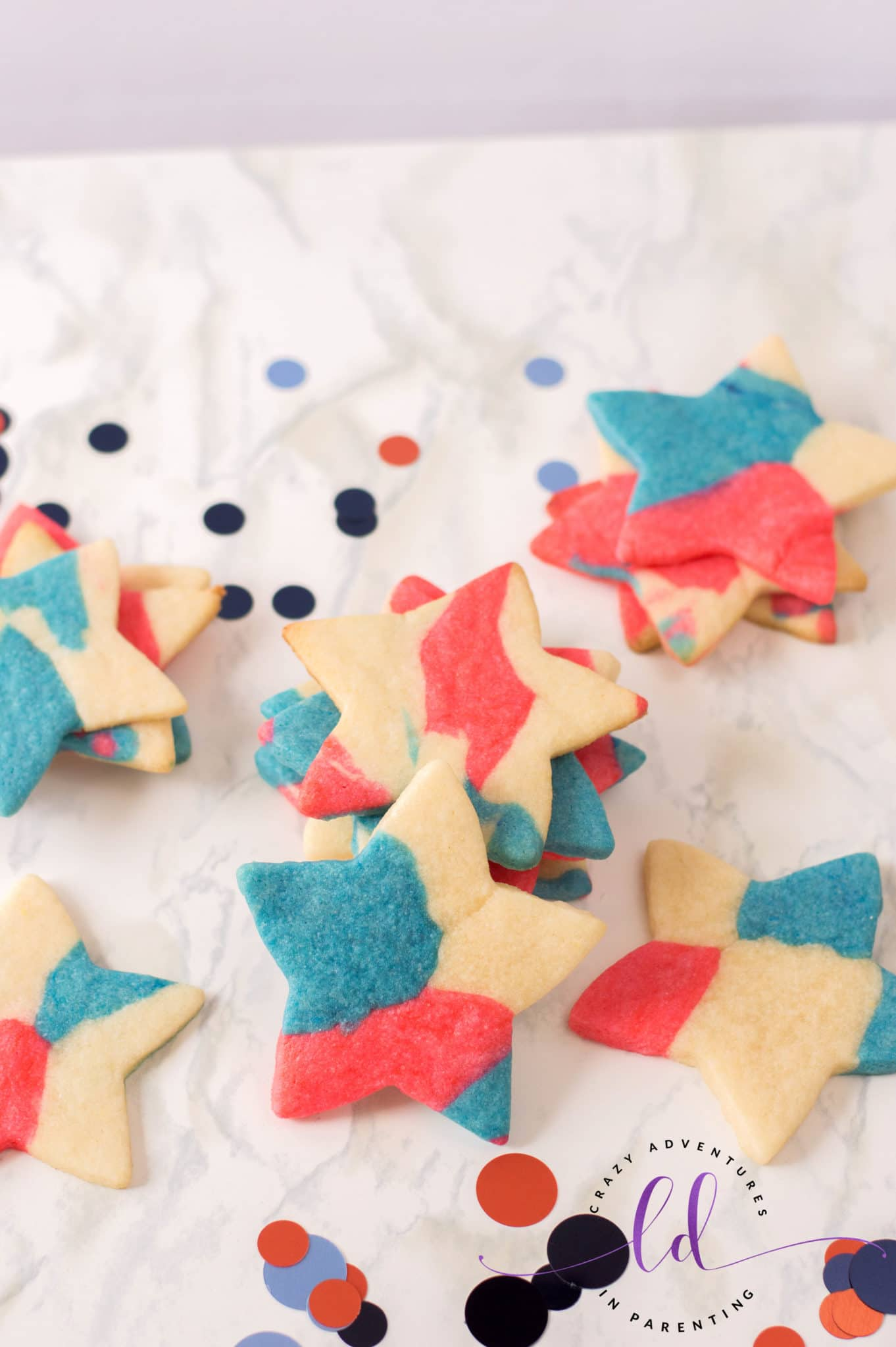 Patriotic Sugar Cookies Recipe for July Fourth