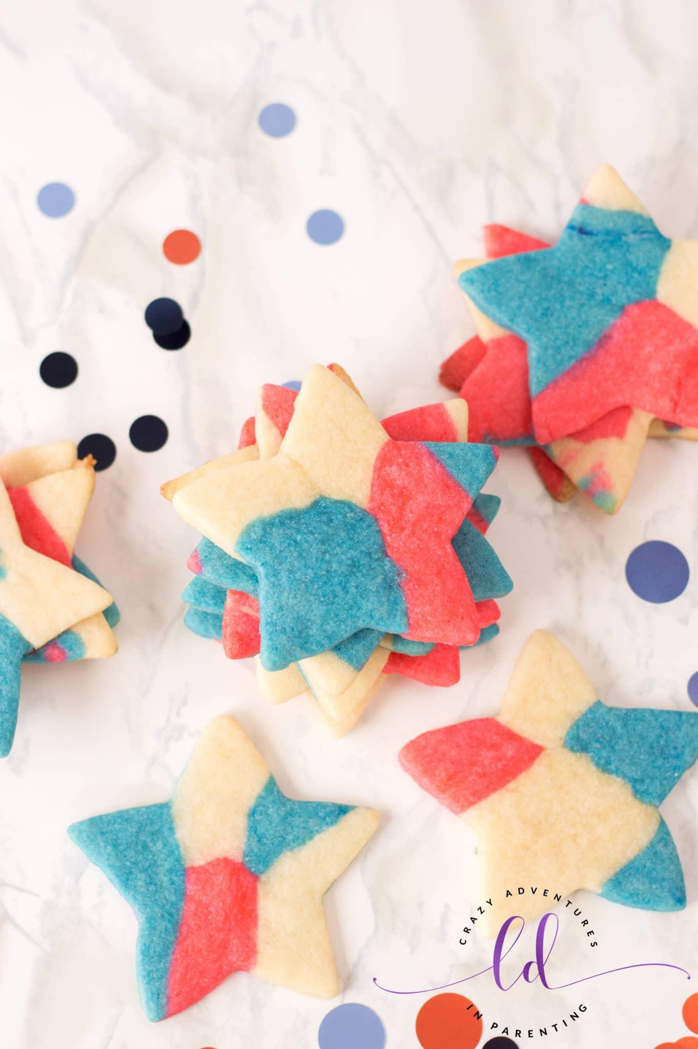 Simple Patriotic Sugar Cookies Recipe
