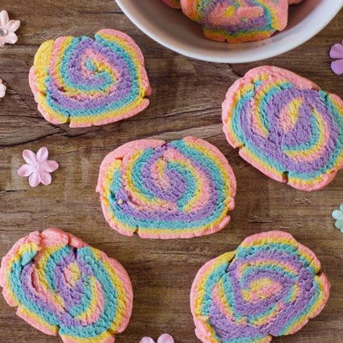Easy Rainbow Unicorn Cookies Recipe
