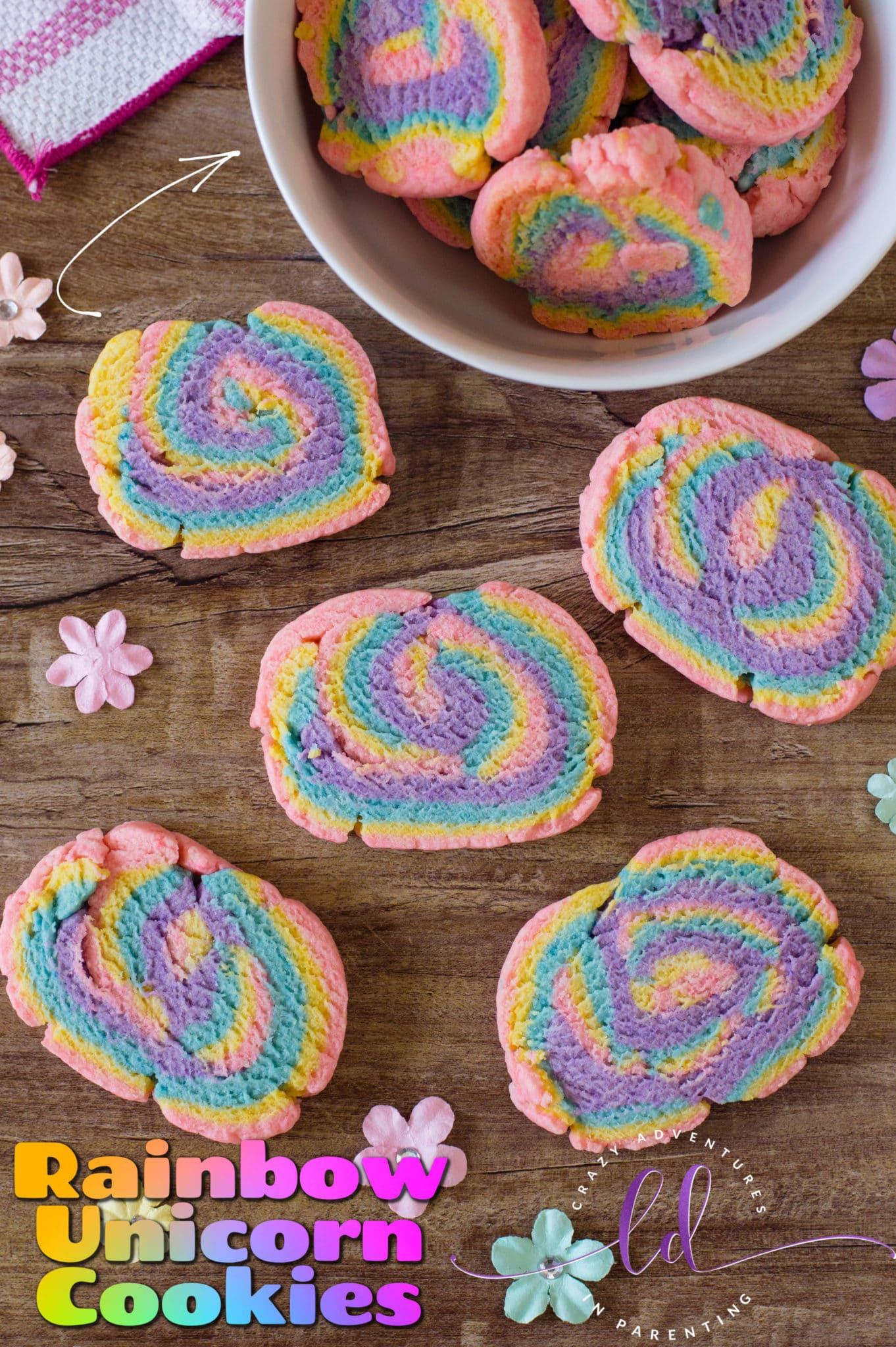 Rainbow Unicorn Cookies Recipe